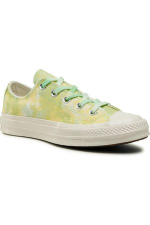 Converse Femme Baskets - Baskets - Chuck 70 Ox 564298C Ligt Apid Green/Fresh Yellow