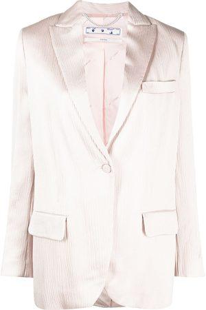 OFF-WHITE Femme Vestes - Tomboy single-breasted blazer