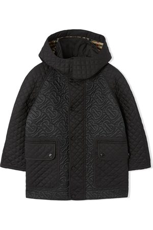 Burberry Manteau à capuche détachable