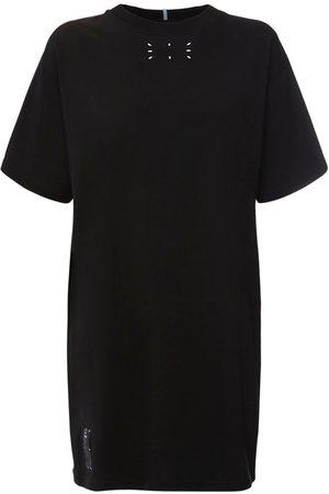 """McQ Robe T-shirt En Jersey De Coton """"collection 0"""""""