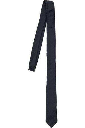 """Saint Laurent Cravate En Soie Monogramme """"ysl"""""""