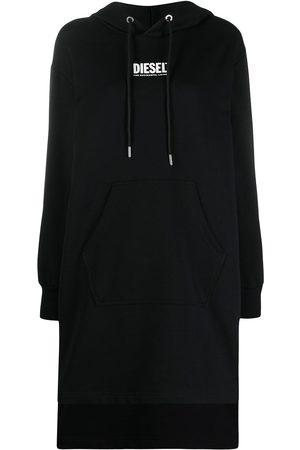 Diesel Femme Robes imprimées - Robe à logo imprimé