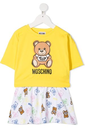 Moschino Ensemble sweat et jupe à logo