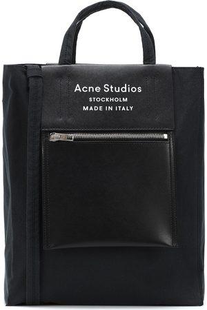 Acne Studios Cabas Baker en toile technique et cuir