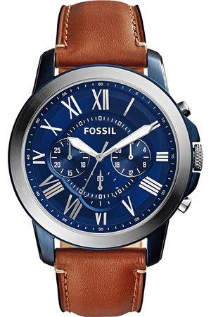 Fossil Montre - Grant FS5151 Light Brown/Blue