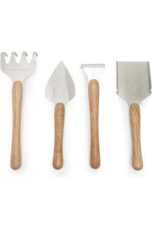 Brunello Cucinelli Ensemble de quatre outils de jardinage