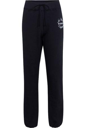 RODARTE Pantalon de survêtement en coton mélangé à logo