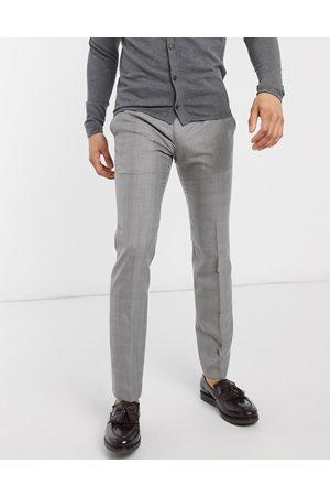 French Connection Pantalon élégant coupe skinny à carreaux Prince de Galles