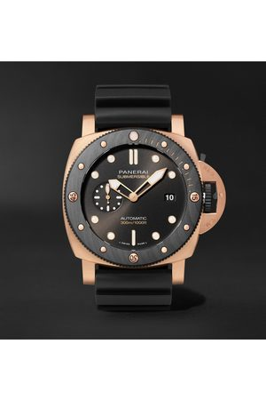 PANERAI Homme Montres - Submersible OroCarbo Automatic 44mm Goldtech and Rubber Watch, Ref. No. PAM01070