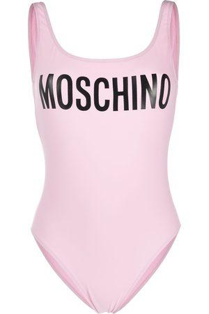 Moschino Maillot de bain à logo imprimé