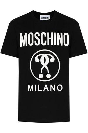 Moschino T-shirt à logo imprimé sur le devant