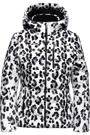 Aztech Nuke leopard-print hooded jacket