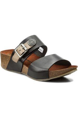 DR. BRINKMANN Femme Mules & Sabots - Mules / sandales de bain - 700959 Schwarz 1