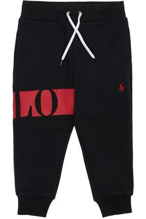 Ralph Lauren Pantalons - Pantalon De Sport En Coton Avec Logo