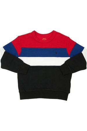 Ralph Lauren Sweatshirts - Sweat-shirt En Coton Bloc De Couleurs