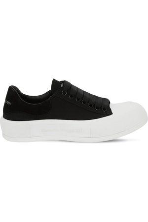 Alexander McQueen Sneakers En Toile De Coton Et Daim 45 Mm