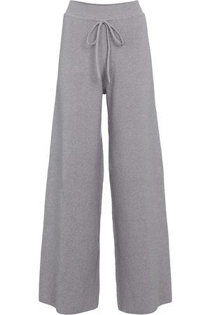 LIVE THE PROCESS Pantalon ample Baja en coton et soie mélangés