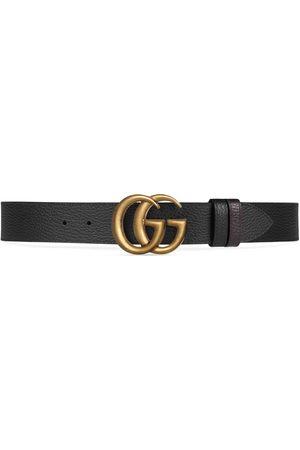 Gucci Ceinture réversible en cuir avec boucle Double G