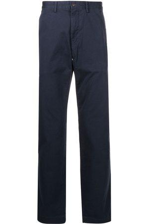 Polo Ralph Lauren Homme Pantalons coupe droite - Pantalon droit à patch logo