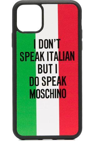 Moschino Femme Téléphones - Coque d'iPhone 11 Pro Max à slogan imprimé