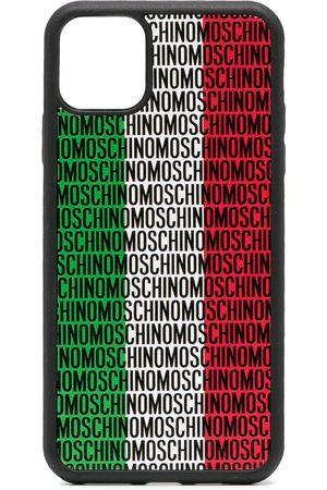 Moschino Coque d'iPhone 11 Pro Max à logo Italy imprimé