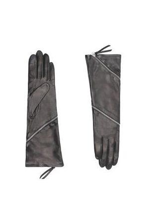 AGNELLE Gants Zipper tactiles doublure en Soie