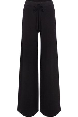 CO Pantalon de survêtement ample en laine mérinos