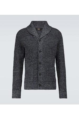 RRL Cardigan en coton et lin