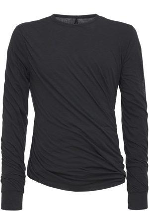 """Rick Owens T-shirt En Jersey Doublé Manches Longues """"twist"""""""