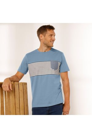 BLANCHEPORTE Tee-shirt rayé manches courtes
