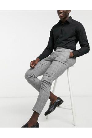 ASOS Pantalon habillé ultra skinny à carreaux Prince de Galles