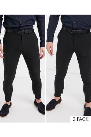 ASOS Lot de 2 pantalons super skinny - ÉCONOMIE