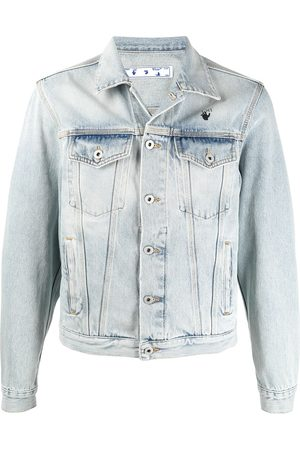 OFF-WHITE Veste en denim Monalisa