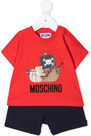 Moschino Ensemble débardeur-short à logo