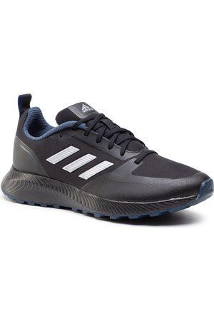adidas Homme Chaussures de randonnée - Chaussures - Runfalcon 2.0 Tr FZ3578 Cblack/Silvmt/Crenav
