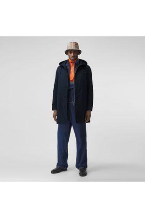 Burberry Homme Manteaux - Manteau à capuche en gabardine de coton, Size: 44