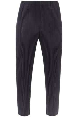HOMME PLISSÉ ISSEY MIYAKE Homme Pantalons classiques - Pantalon droit en jersey plissé