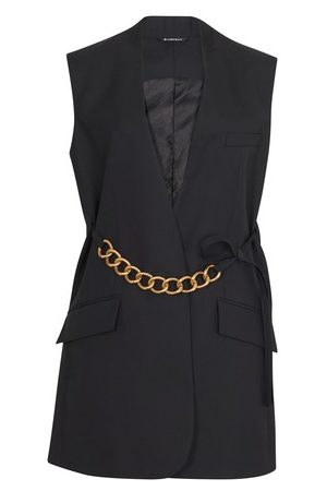 Givenchy Veste sans manches à chaîne métallique