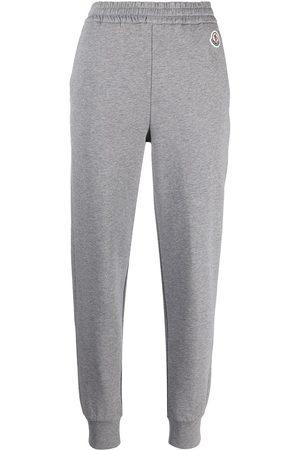 Moncler Pantalon de jogging à patch logo