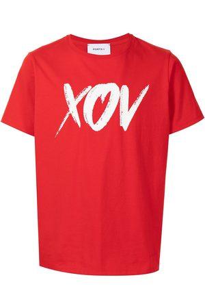 Ports V T-shirt à slogan imprimé