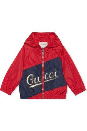 Gucci Veste à capuche à logo imprimé