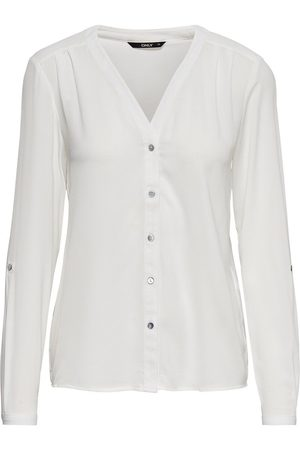 Only Ample Chemise À Manches Longues Women White