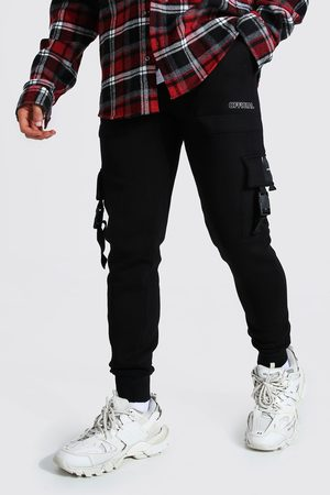 Boohoo Official Utility Skinny Cargo Joggers Homme