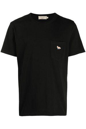 Maison Kitsuné T-shirt à patch logo