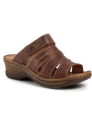 Josef Seibel Femme Mules & Sabots - Mules / sandales de bain - Catalonia 49 56549 95 320 Brandy