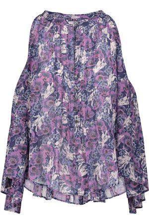 Isabel Marant, Étoile Blouse Abiti en coton à fleurs