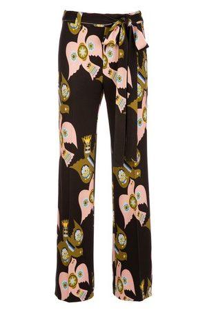 La DoubleJ Femme Pantalons bootcut - Pantalon Slit