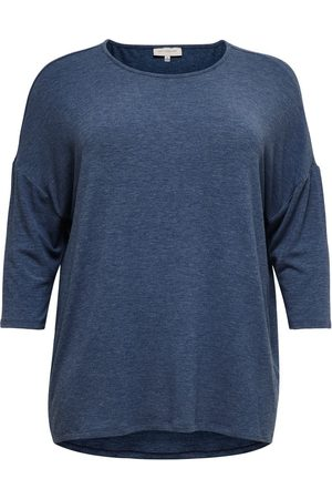 Only Voluptueux, Ample Top Manches 3/4 Women Blue