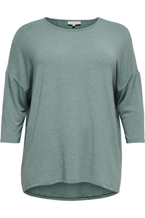 Only Voluptueux, Ample Top Manches 3/4 Women Green