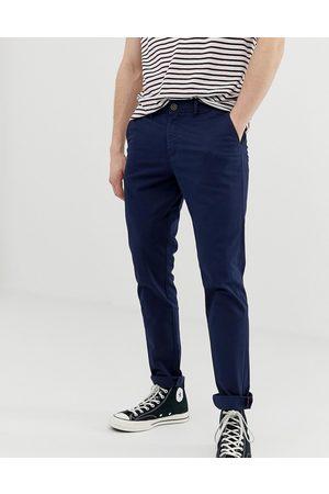 Jack & Jones Intelligence - Pantalon slim chino - marine